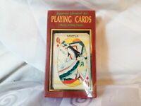 Japanese Classical Art Playing Cards Deck Heian Era Golden Edges w/Jokers Sealed