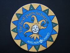ADELAIDE CASINO THE BEST PARTY IN TOWN ORANGE BLUE COASTER