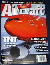 Aircraft Illustrated 2006 March TNT Liege,Mirage,Pilatus PC-21