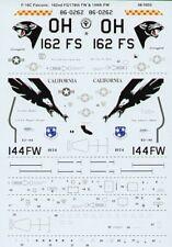 MICROSCALE DECALS 1/48 Lockheed-Martin F - F-16C Falcons #ss481055
