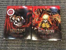 Brand-New Sealed Hellsing Ultimate: 1-4 & 5-8 Blu-ray W/ DVD Alternate Version