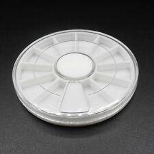 Boite à vis ou rangement pièces horlogerie ou bijouterie plastique
