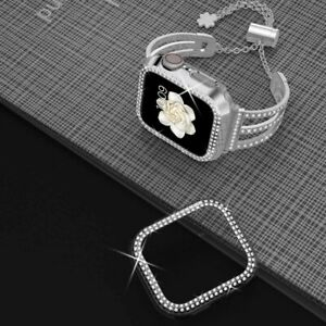 Bling Diamond Protector Case Cover For Apple Watch Series 6/5/4/3/SE 38/40/42/44