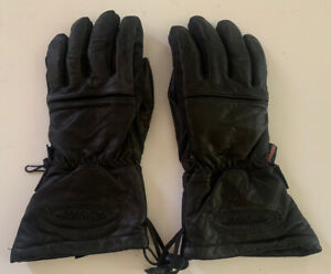 Harley-Davidson Motorcycle Gloves Black Leather Size XL FXRG Gore Tex