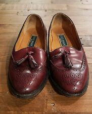 Mens size 8 D Cole Haan shoes Green Label Oxblood loafers