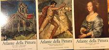 ATLANTE DELLA PITTURA 1967 De Agostini maestri fiamminghi inglesi francesi