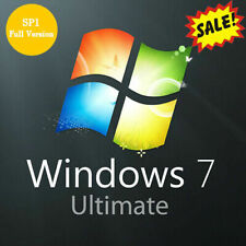 Windows 7 Ultimate Key 32/64 Bit Activation Key Microsoft -Win 7 Ultimate- Cheap