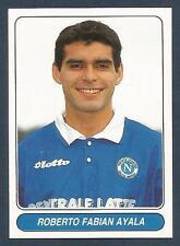 PANINI EUROPEAN FOOTBALL STARS 1997- #020-NAPOLI & ARGENTINA-ROBERTO AYALA
