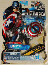 Captain America Ultimates Comic Series figure with Dual Blade Shield Marvel #1