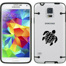 For Samsung Galaxy S3 S4 S5 Transparent Clear Hard TPU Case Cover Sea Turtle