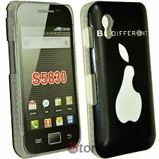Cover Custodia Per Samsung Galaxy Ace S5830 Be Different Pera Morso + Pellicola