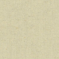 "LINEN COTTON UPHOLSTERY CURTAIN FABRIC VINTAGE SOLID NATURAL OATMEAL COLOR 54""W"