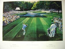 Sunday In Augusta-Ted Hamlin-Masters Golf Tournament-Jack Nicklaus Arnold Palmer