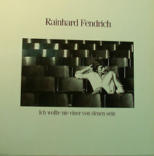 """RAINHARD FENDRICH """" VOLUTO MAI EINER VON QUALE SEIN """" 12"""" LP [k339]"""