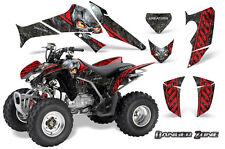 HONDA TRX 250 2006-2016 GRAPHICS KIT CREATORX DECALS STICKERS DANGER ZONE R