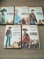 """lot de 5 DVD ★ """"  Western de Légende """", robert mitchum, richard widmark, fonda.."""