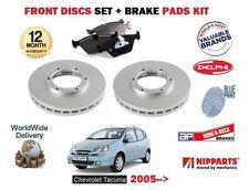 Para Chevrolet Tacuma 1.6 2.0 2005 -- > Nuevo Delantero Juego Discos De Freno + Kit de almohadilla de disco