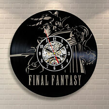 Final Fantasy VII 7 Original Black Label New Vinyl Record Clock