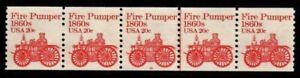 #1908 Fire Pumper  PNC5 Pl #10 - MNH