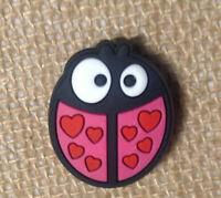 Ladybug Shoe Bracelet Charm