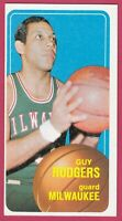 1970-71 Topps Basketball # 22 (EX) Guy Rodgers Milwaukee