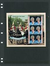 Maldives Islands Princess Diana 1998 Souvneir Sheet Mint