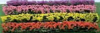 """JTT Scenery Products 95509 - HO Scale - Blossom Hedges 5""""(L) 8/pk"""