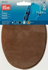 Prym Patches Velourslederimitat zum Aufbügeln 10x14 cm stein 1 Paar 929372