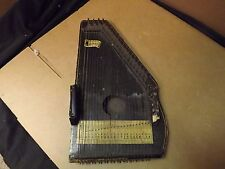 Autoharp Vintage/ Crack in body - Made in Jersey [Ma 287]