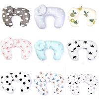 Newborn Baby U-Shap maternity breastfeeding nursing support pillow detachable MW