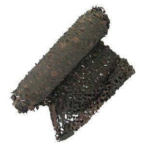 Filet bâche de camouflage à la découpe au mètre - Cam bicolore Woodland
