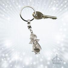 Engel & Herz Schlüsselanhänger silberfarben Gilde 50992 Metall Anhänger GI-SH-98