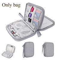 2.5'' Digital Storage Bag Hard Drive Case USB Data Cable Organizer Pouch New