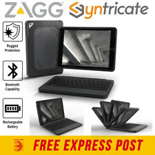 """ZAGG RUGGED BOOK BACKLIT KEYBOARD CASE FOR IPAD 9.7 (6TH/5TH GEN)/AIR 2/PRO 9.7"""""""