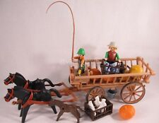 PLAYMOBIL VINTAGE 3735 HARVEST CART PUMPKINS BOY - COLLECTOR-COMPLETE-EXCELLENT