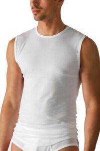 HERMKO  1 Herren Tank Top Unterhemd mit Rundhals-Ausschnitt aus 100% Bio-