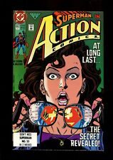 ACTION COMICS 662 (9.6) SUPERMAN REVEALS IDENTITY TO LOIS DC (b029)