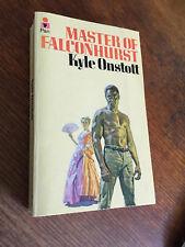 Master of Falconhurst by Kyle Onstott paperback 1974