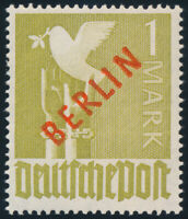 BERLIN 1949, MiNr. 33, tadellos postfrisch, gepr. Schlegel, Mi. 550,-