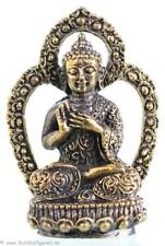 Vairocana - Mini Buddhafigur - Höhe 4,3 cm Messing - Handarbeit aus Nepal