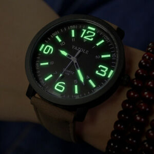 Luminous Watch Men Yazole Brand Luxury Fashion Sports Watches Male Clock Quartz