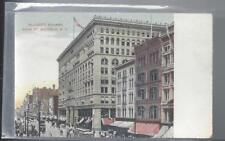 Ellicott Square, Main St, Buffalo ~ SH Knox & Co DB NPM Postcard #635