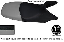 BLACK & GREY VINYL CUSTOM FITS HONDA XL 125 01-12 VARADERO SEAT COVER ONLY