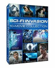 Sci-Fi 10 Movie Collection: Terminator: Genisys, Aeon Flux + more- New Rg1 Dvd