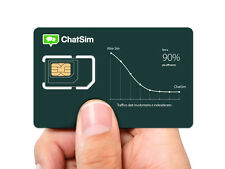 Chatsim World - Global Sim Card To Chat With Whatsapp, Telegram etc. no Roaming