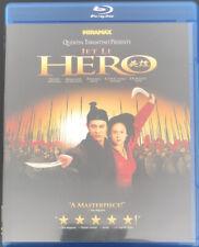 New listing Hero 2002 Blu Ray Rare Oop Martial Arts Tested Fast Shipping Jet Li Zhang Yimou