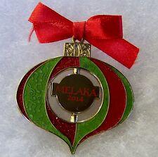 HARD ROCK CAFE MELAKA CHRISTMAS ORNAMENT WITH LOGO SPINNER PIN # 81530