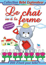 DVD Collection bébé explorateur - Le chat va à la ferme