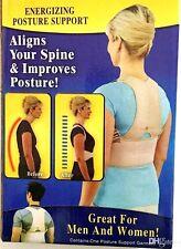 Shoulder  Brace for Posture Correction and Back Pain Support, Adjustable/ LARGE