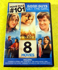Good Guys Get the Girl - 8 Movie Feature ~ New DVD Set ~ Romantic Comedy